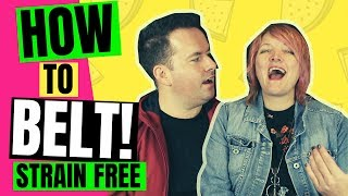 🌟 How To Belt - That Singing Show - EP1 - Belting & The Pop Voice - Vocal Coach  - Singing Tips