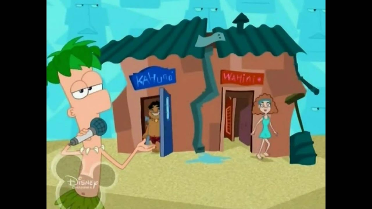 Phineas And Ferb Backyard Beach Song phineas and ferb - backyard beach - youtube