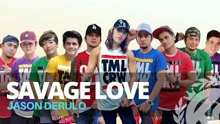 Download lagu SAVAGE LOVE (Tiktok Hit) by Jason Derulo | Zumba | Pop | TML Crew Paulo and Kramer