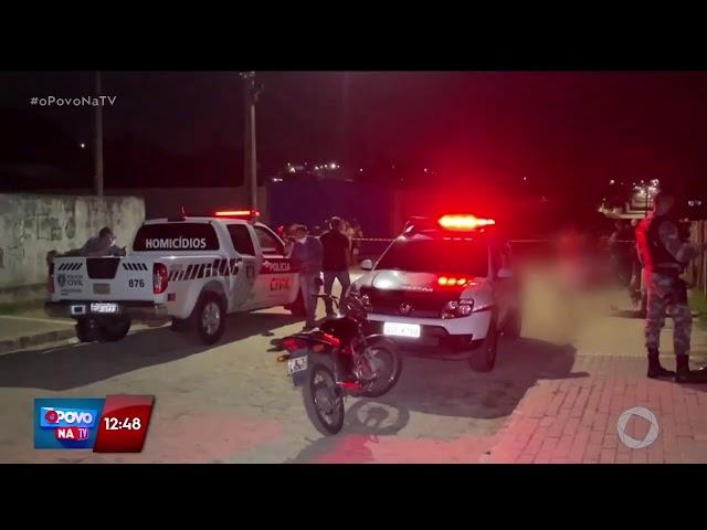 Jovem é executado com 16 tiros no Alto do Mateus  - O povo na TV