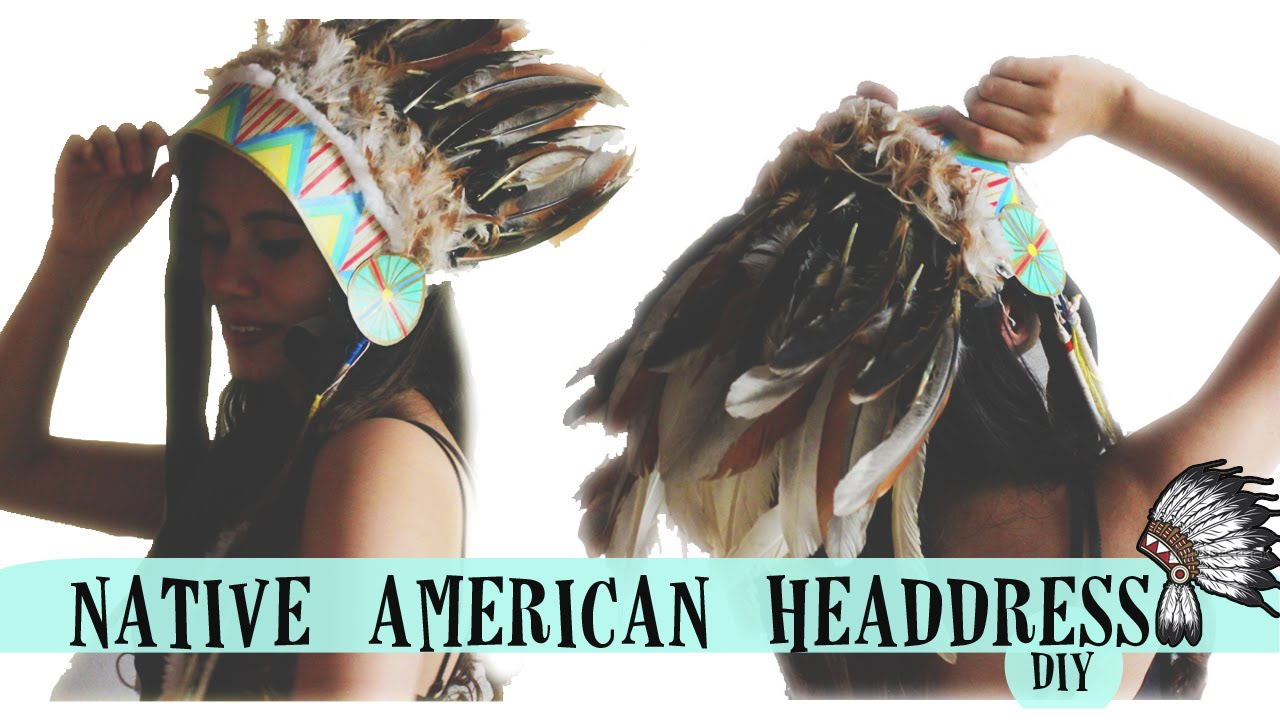 Native headdress diy youtube solutioingenieria Image collections