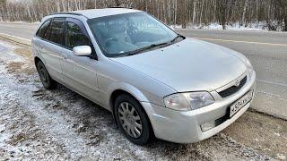 Разгон Mazda familia wagon 1.5 130 сил