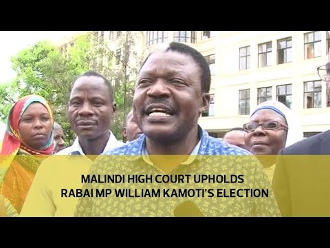 Malindi high court upholds Rabai MP William Kamoti's election