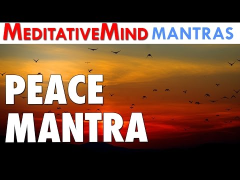 Peace Mantra Chanting - Incredibly Powerful | 432Hz Chants