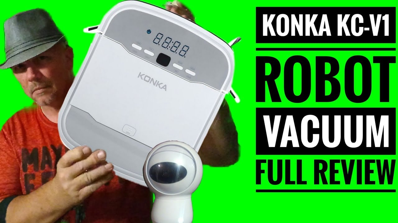 Konka Robot Vacuum Self Charging Full Review of the KC-V1