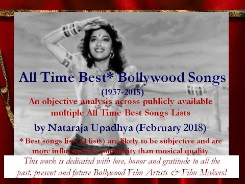 All Time Best Bollywood Songs Music Artists Musical Films & Musical Film Makers