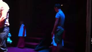 Репетиция сцен из спектакля Дон  Жуан с юными магнитогорскими арт истами