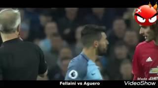 Football stars fights