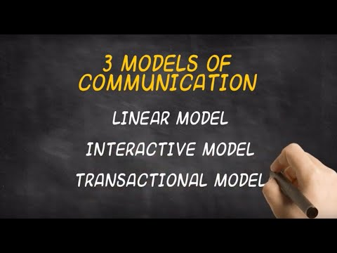 The 3 Models Of Communication