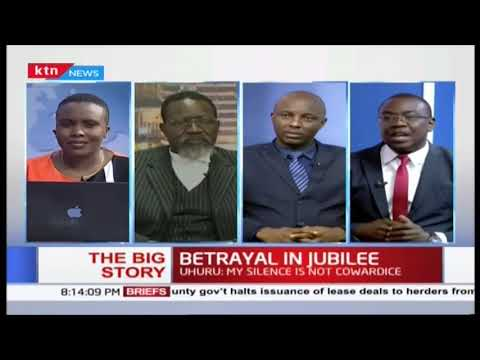 Betrayal in Jubilee:  Uhuru: ''My silence is not cowardice'' | The Big story | Part 1