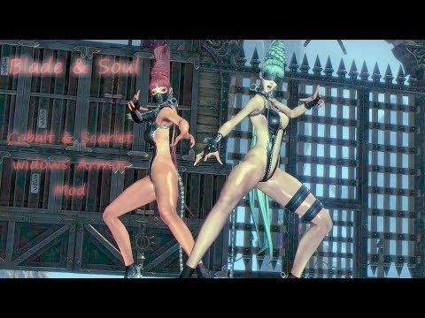 Blade & Soul - Hae Mujin, Cobalt and Scarlet  Widows Conversation with Mod