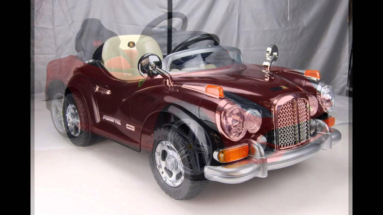 Toy Cars For Kids To Ride Electric Toy Cars Ride On Youtube
