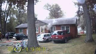 House Fire 12000 blk Remington Dr