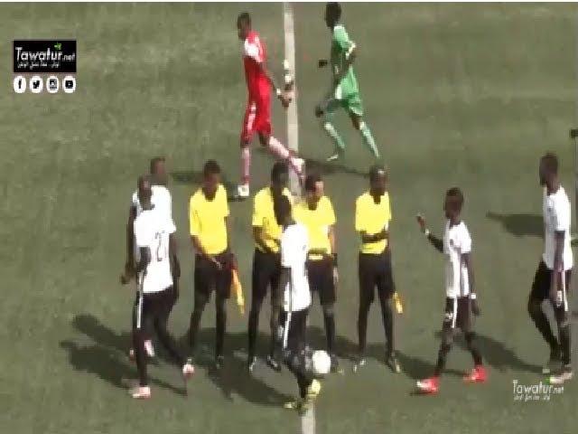 اهداف مباراة الديربي تفرغ زينة ولكصر 4-1 الجولة الثانية من الدوري الموريتاني