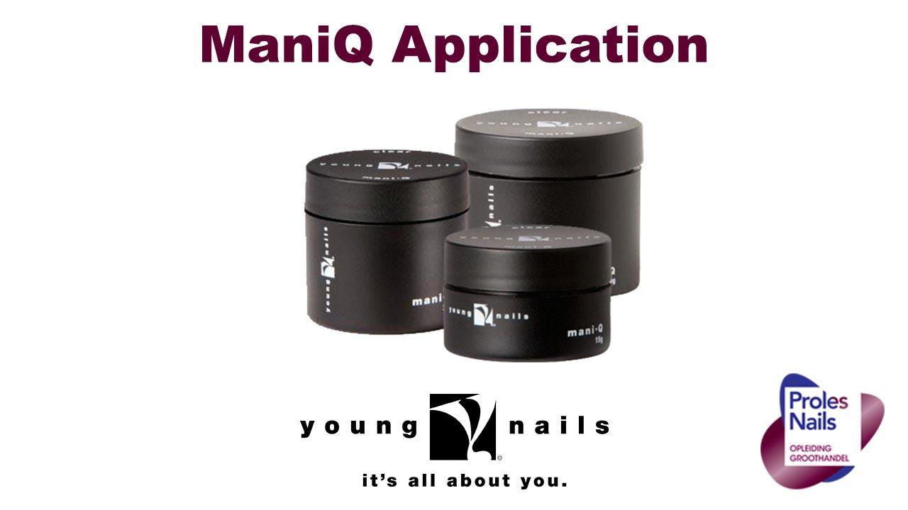 Young Nails Mani•Q Gel Application - www.prolesnails.nl ...