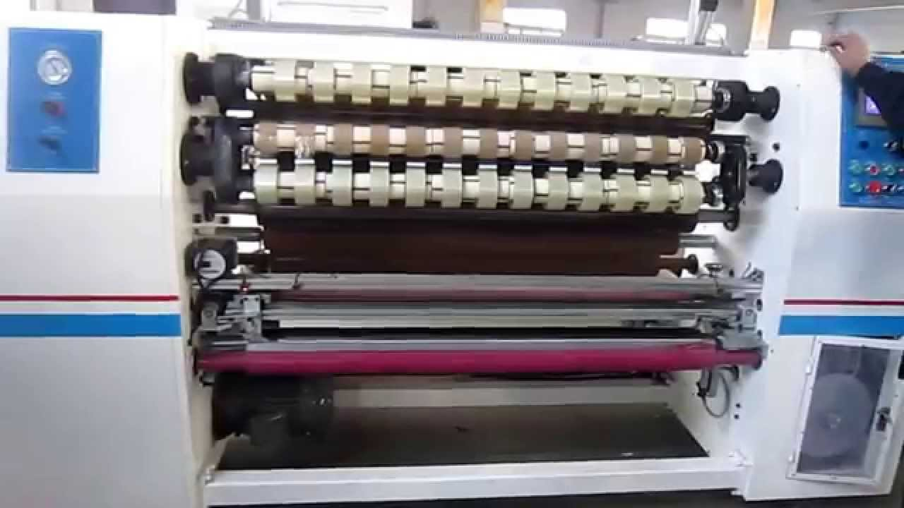 BOPP Tape Manufacturing Machine To Manufacture Packaging Adhesive