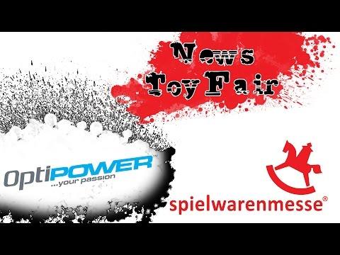 Optipower News from the toy fair Nürnberg