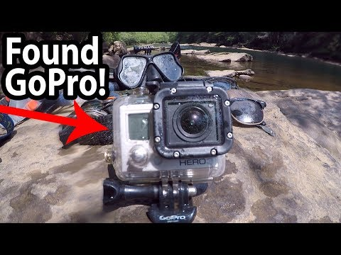 Thumbnail: CRAZY!! Found LOST GoPro Camera in the River!!! RIVER TREASURE!!