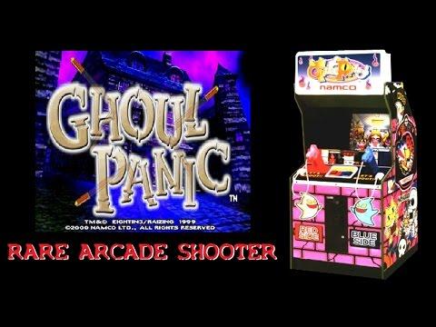 Namco S Ghoul Panic Rare Arcade Shooter Light Gun Game