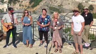 Karen Peck and New River sing Hope For All Nations in Jerusalem 2017