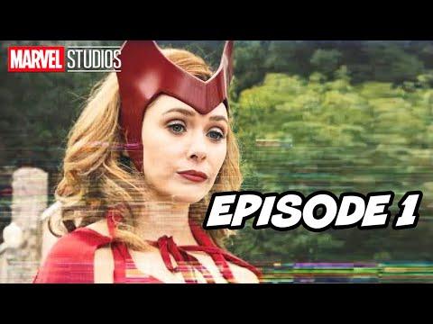Marvel Wandavision Episode 1 Scene 2021 X-Men and Doctor Strange 2 Trailer Easter Eggs