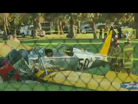 Reports: Harrison Ford hospitalized after plane crash