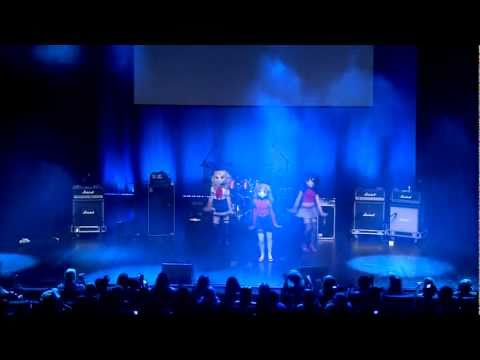 Caramella Girls - Caramelldansen - Stage Performance