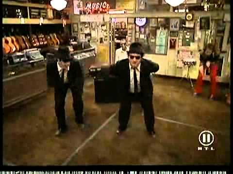 Blues brothers shake your tail feather
