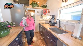 After Retirement She Started Over With A New Life In Her Custom Tiny Home On Wheels