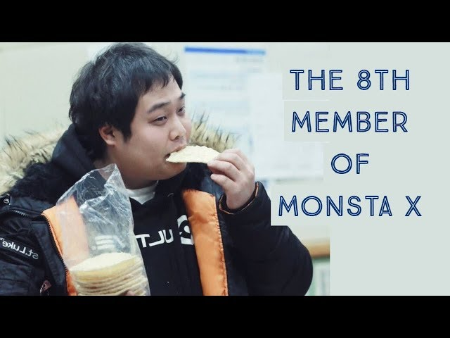 Monsta X's Loveable Hongsik Manager