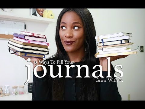 15 Ways To Fill Your Journals