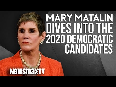 Mary Matalin Dives into the 2020 Democratic Candidates - YouTube
