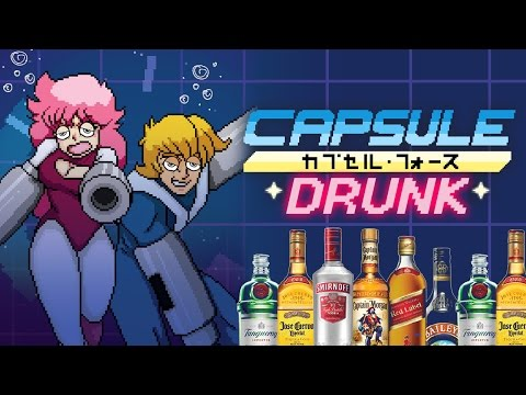 WORST VIDEO EVER - Drunk Capsule Force Gameplay