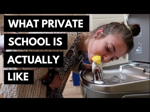 what private school is ACTUALLY like *parody video*