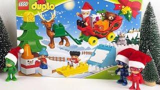 I Pj Masks Super Pigiamini aprono la slitta di Babbo Natale Lego Duplo [Unboxing in italiano]