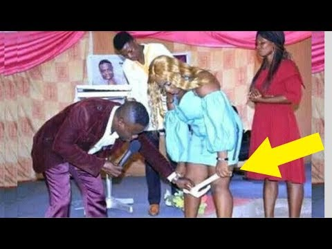 Pastor REMOVES Woman's PANTIES  In The Middle Of Church Service sets social media on fire thumbnail