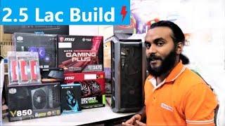 Ryzen 2700x and 1080ti Build | 2.5 LAKH PC Build