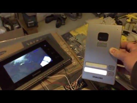 Vorstellung Samsung Video Haustür Klingel Door Bell SAM-30