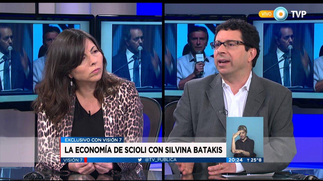 Visión 7 - La economía de Scioli con Silvina Batakis