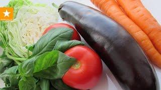 Диета! ОВОЩНОЕ РАГУ - универсальный рецепт от Мармеладной Лисицы