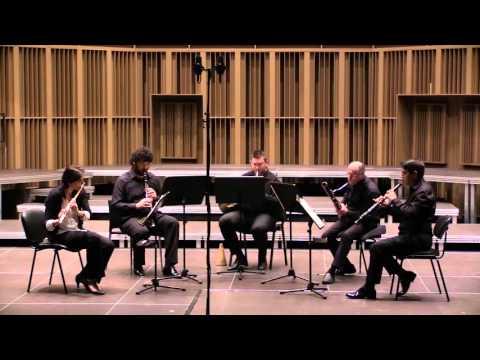 """""""C. DEBUSSY  Petite suite"""" Evohe Wind Quintet"""
