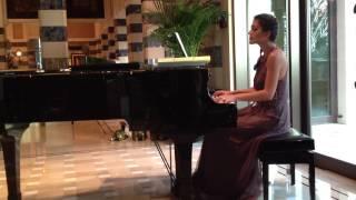 Am Ahmad Omar Khairat piano Dubai Pianist