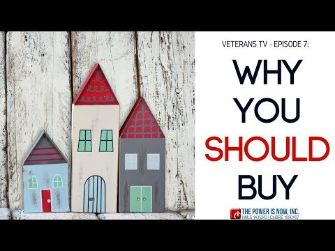 Veterans TV Episode 7 : Why military life and PCSing are excellent reasons to purchase a home.