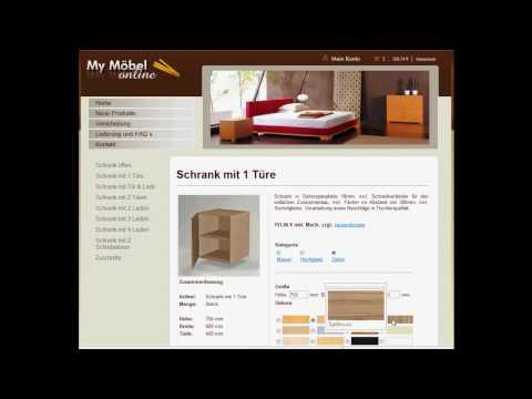 My Möbel - Möbel nach Maß Onlineshop