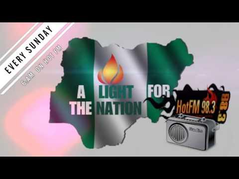 A light for the nation.  Studio veritas social comm dept.