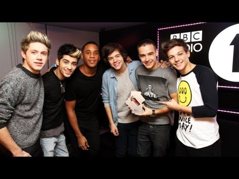 One Direction on the Official Chart with Reggie Yates on Radio 1