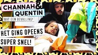 DE BEVALLING ● CHANNAH & QUENTIN: WAT EEN BEVALLING!