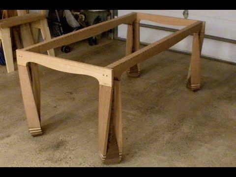 Twisted Table 8 - Glue-up FAIL!  Had to Cut the Leg Apart