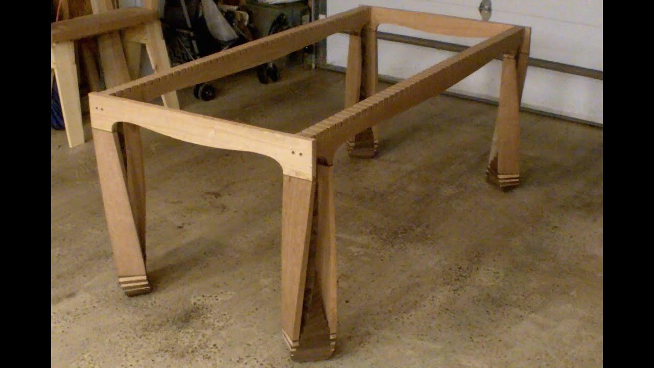 Twisted Table 8 Glue up FAIL Had To Cut The Leg Apart