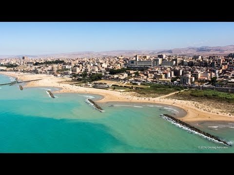 Gela Beach , Sicily - YouTube